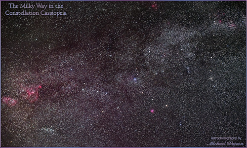 2019 Aug. 2 ~ The Milky Way in the constellation Cassiopeia