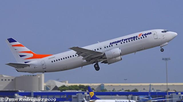 LZ-CGY - Smartwings - Boeing 737-49R - PMI/LEPA