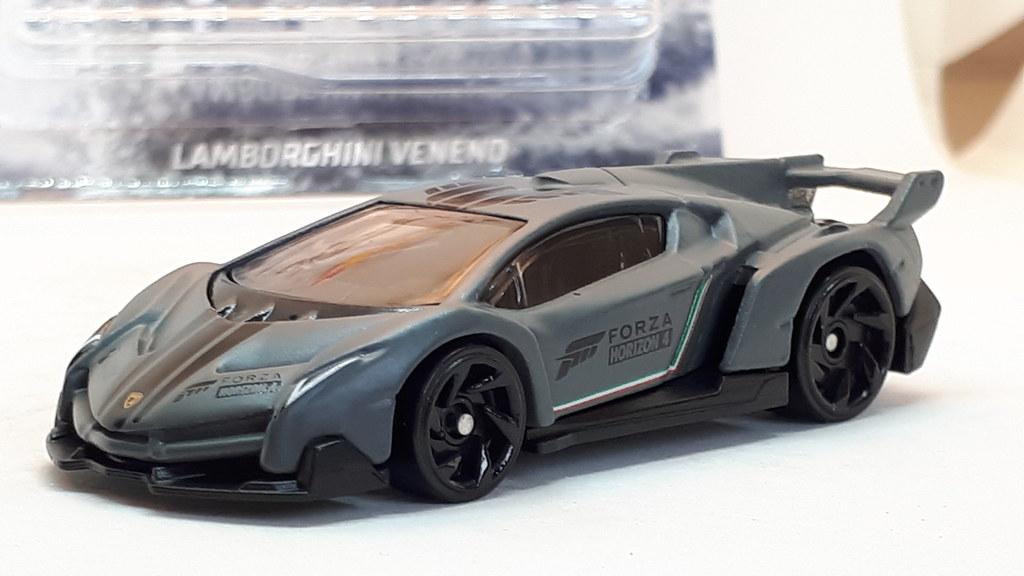 Hot Wheels Lamborghini Veneno No7 Forza Horizon 4 1 64 A Photo On Flickriver