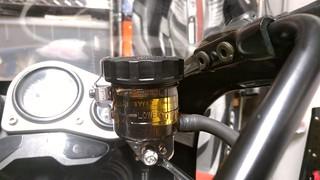GSX-R1100W brake master cylinder reservoir