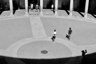Plaza de toros - tendido de sol