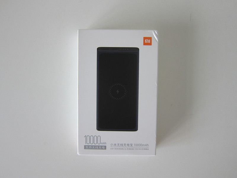 Xiaomi Mi 10,000mAh Wireless Power Bank - Box Front