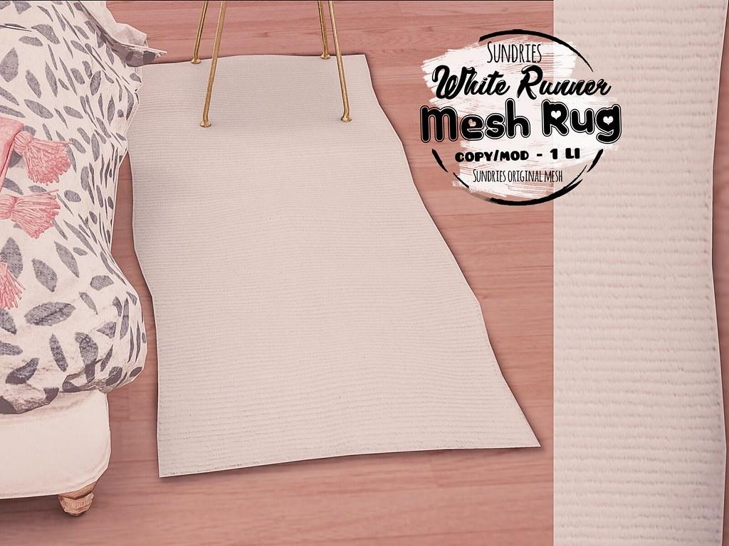 Fav Mesh Rug - TeleportHub.com Live!