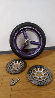 GSX-1100W front wheel