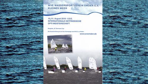 Internationale Ostfriesische Opti Meisterschaft am 10./11. August 2019
