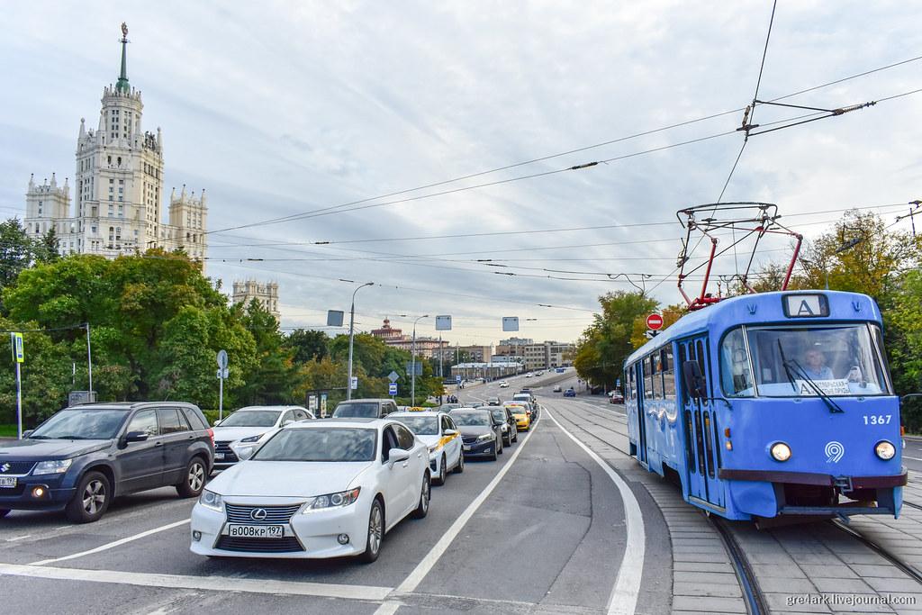 Временная платформа из разметки до постройки капитальной, Москва