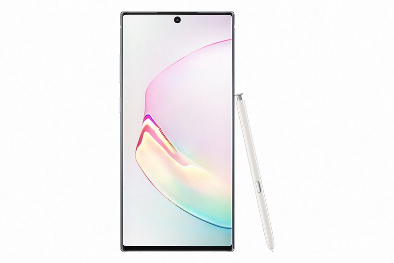 Samsung Glaxy Note10+ - Aura White - Front