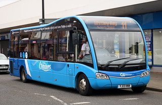 Go North East: 0691 YJ13HNW Optare Solo SR