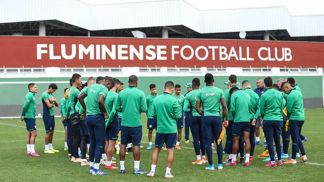 Treino do Fluminense - 15/08/2019