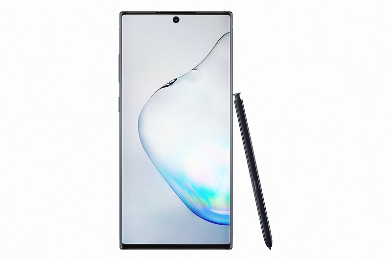Samsung Glaxy Note10+ - Aura Black - Front