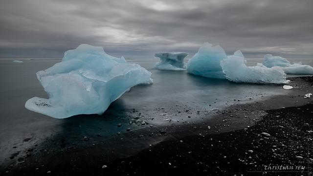 Diamond beach, Jökulsárlón (Iceland)