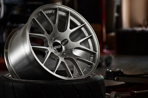 "18"" EC-7R Forged in Brushed Clear 