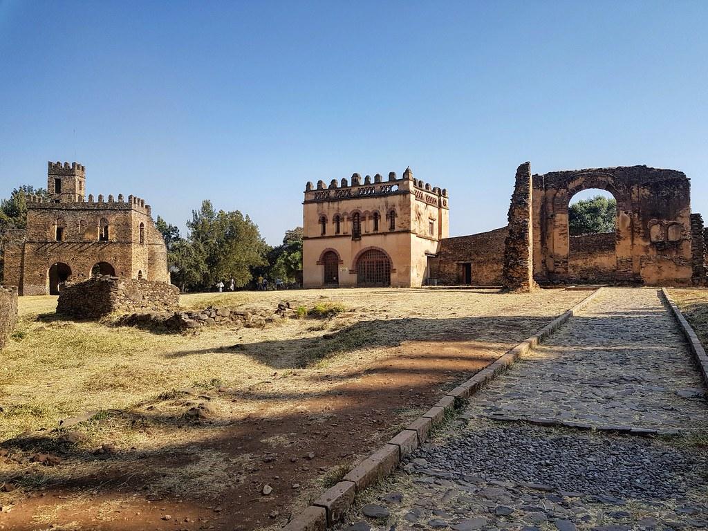 Fasil Ghebbi Gondar Etiopia