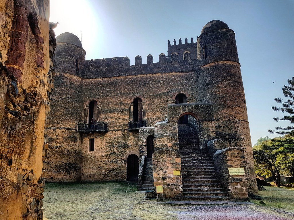 Fasil Ghebbi - Pałac Fasilidesa, Gondar Ethiopia