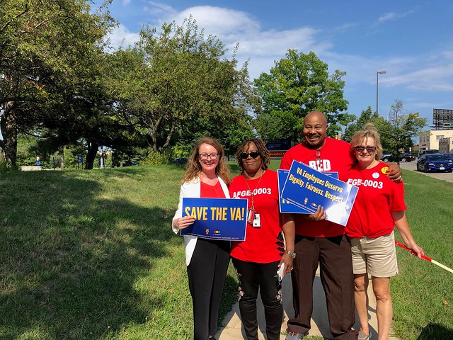 Milwaukee VA Contract Rally Aug 2019