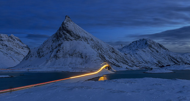 Blue Hour, Fredvang, Lofoten, Norway