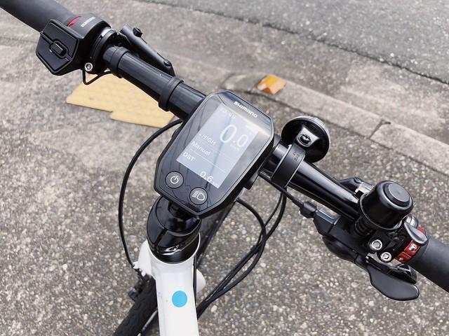 租借的電動腳踏車