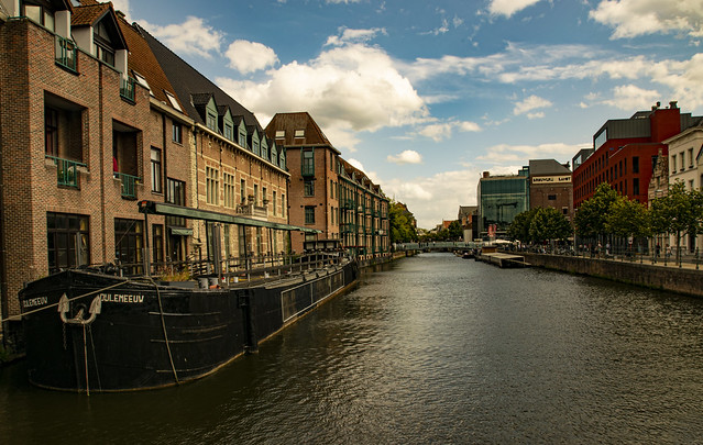 The Dyle in Mechelen (color)