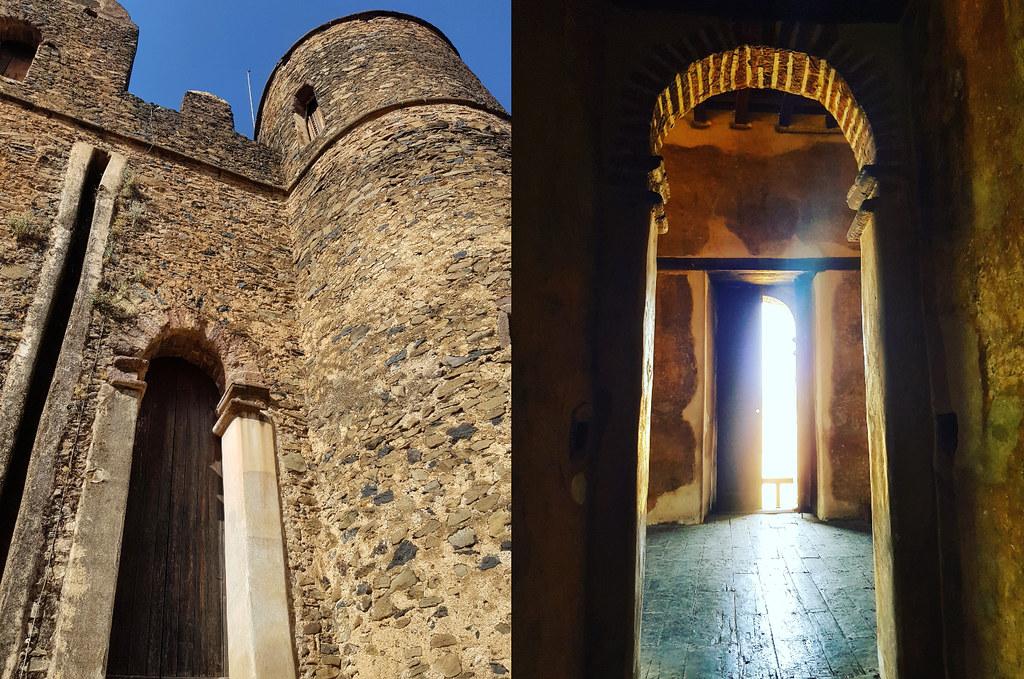 Fasil Ghebbi - pałac Fasilidesa Gondar