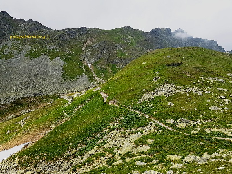 23-La degollada de Vysné Koprovské sedlo y el pico Koprovský stít