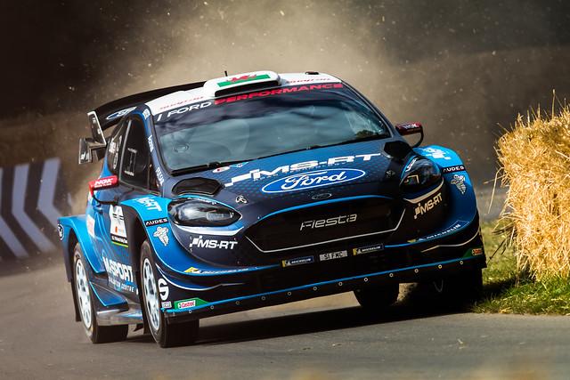 M-Sport Ford Fiesta WRC - Goodwood Festival of Speed 2019