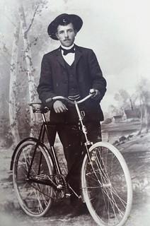 biker ca. 1900