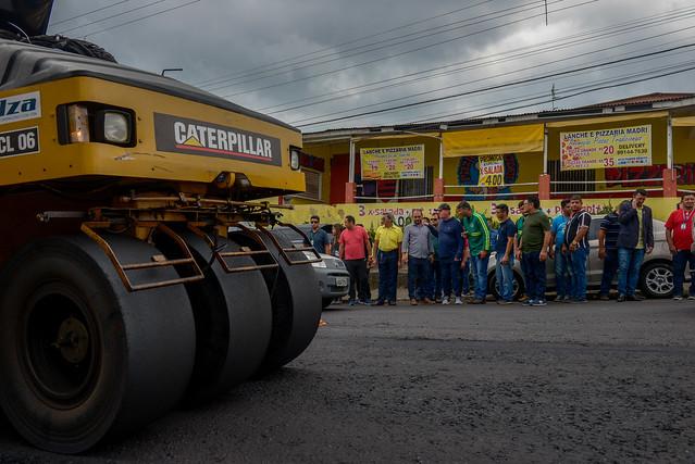 15.08.19 Prefeito Arthur vistoria obras do Requalifica no Santo Antônio