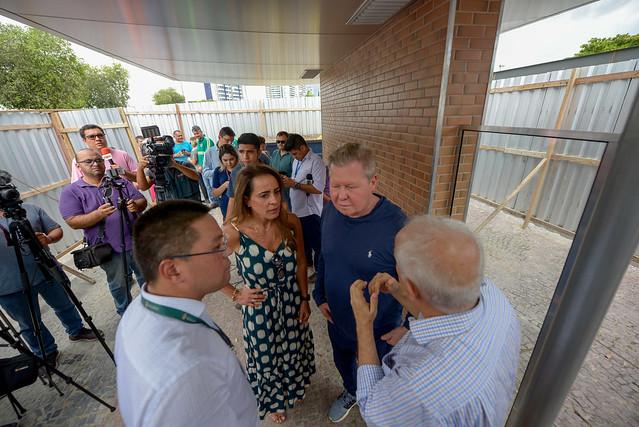 15.08.19 Prefeito Arthur visita obras da estação de ônibus na Ponta Negra