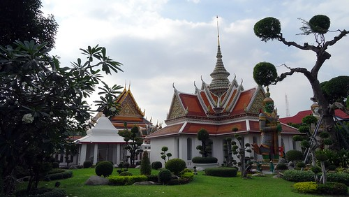 The Wat Arun Temple. From 7 Beautiful Places To Visit In Bangkok