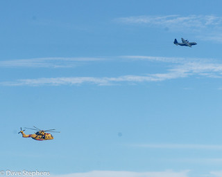 Rescue Helicopter And Support Plane
