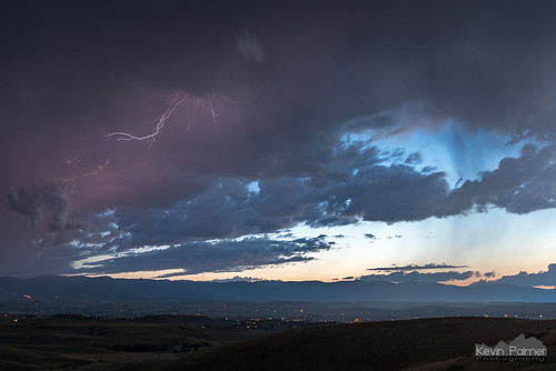 august summer nikond750 storm stormy thunderstorm weather clouds sky sheridan wyoming evening twilight blue scenic overlook i90 bighornmountains tamron2470mmf28 lightning hills
