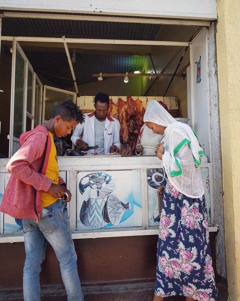 Mięsny Gondar, Etiopia