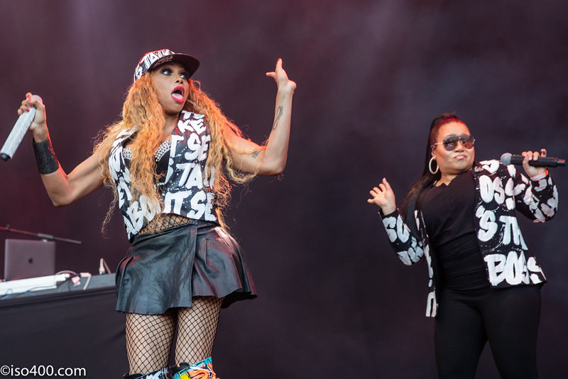 Salt N Pepa Boomtown 2019 pic by Mike Burnell-5338