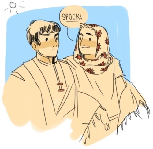 """notants' art """"Spock!"""""""