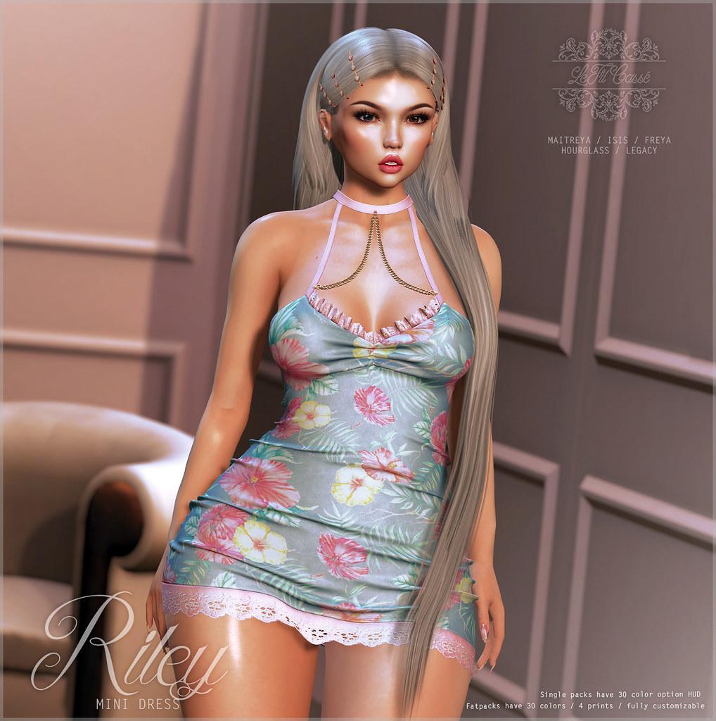 {le fil cassé} Riley Dress for Kustom9! - TeleportHub.com Live!
