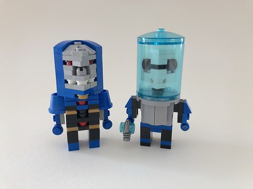 [old stuff] Cube Dude Darkseid and Mr Freeze