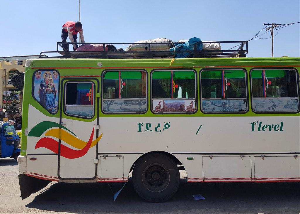 Ulice w Gondar
