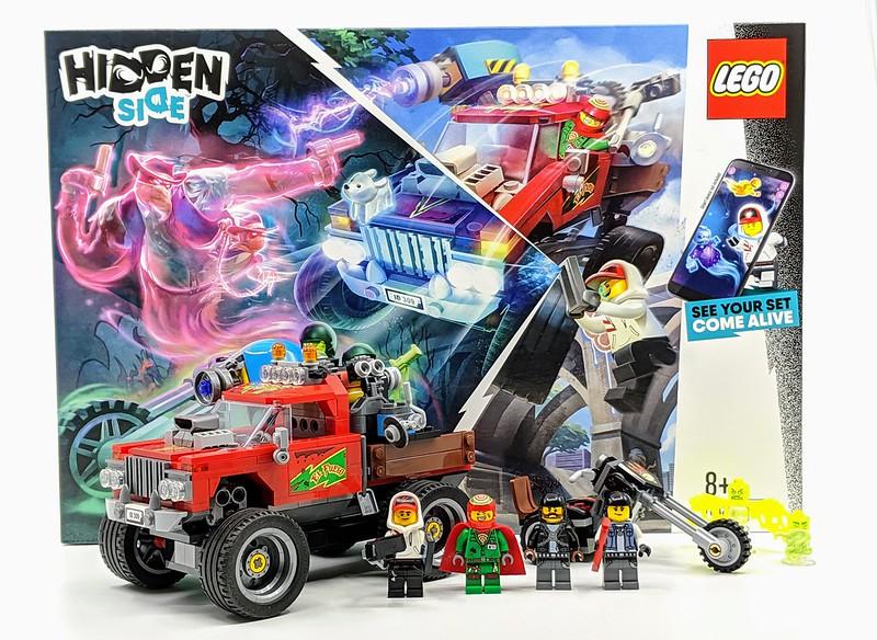 70421: El Fuego's Stunt Truck Hidden Side Set Review
