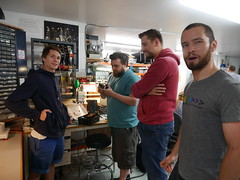 Bristol Hackspace: Ex-Reach Robotics Visitors