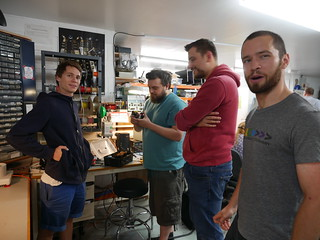 Bristol Hackspace: Ex-Reach Robotics Visitors | by anachrocomputer