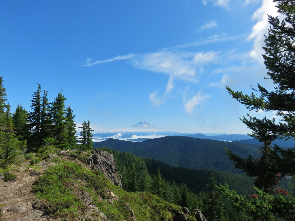 Mt. Hood from Tumala Mountain