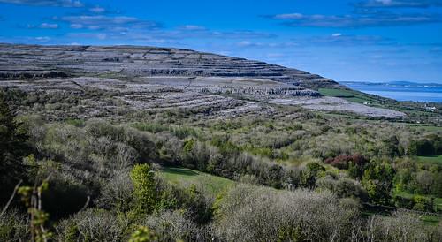 oranmore countygalway ireland mountains viewed from corkscrew hill county clare ie éire eire airlann poblacht na héireann irland irlanda irlande irish landscape paysage
