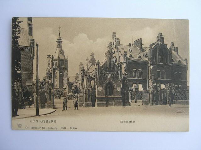 Königsberg in Ostpreußen  Schlachthof 1904