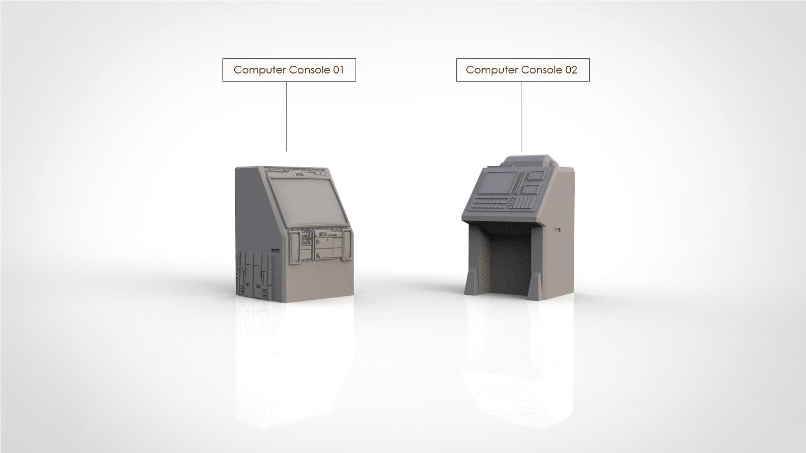Computer Consoles