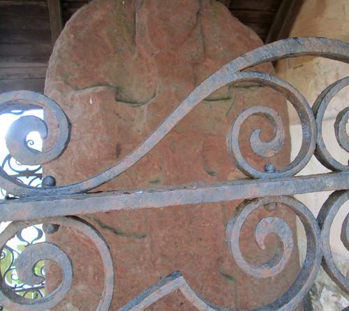 Old Stone, Upper Largo Kirk 2