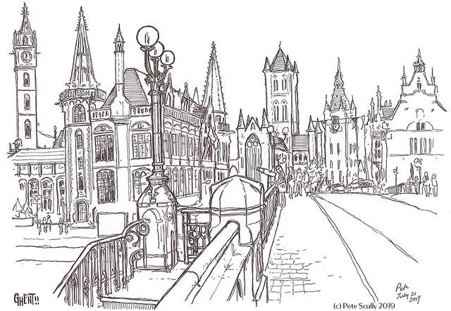 Ghent St Michielsbrug