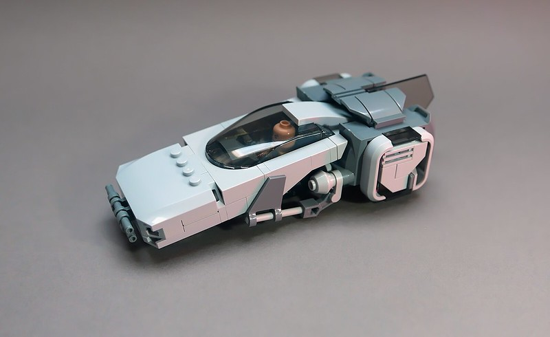 Another hovercar LEGO MOC