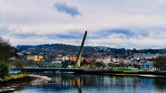 Pontevedra - El puente de los Tirantes