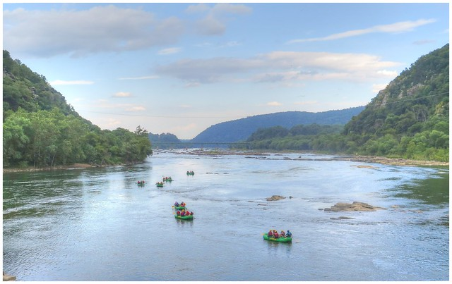 Rafting on the Potomac River @ Harpers Ferry, West Virginia