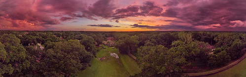 valrico florida unitedstatesofamerica sunset clouds skyporn colorful skies panorama djimavicair drone uav aerialphotography mavicairusa mavicair usa angryskies angrysky coulorfulskies blue orange purple tampa tampabay centralflorida panoramic